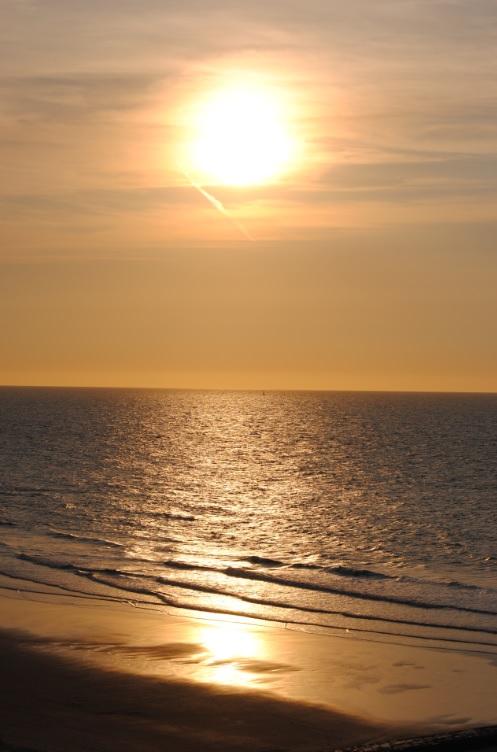 Belgischer Strand an der Nordsee