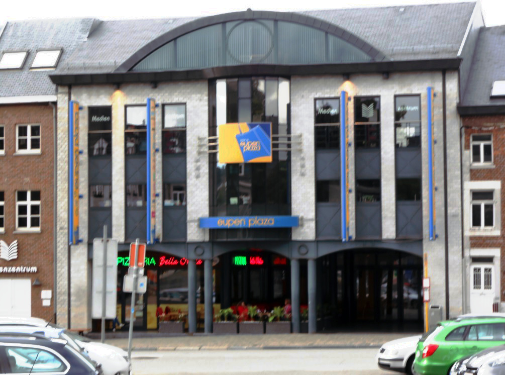 Eupen Plaza Einkaufszentrum