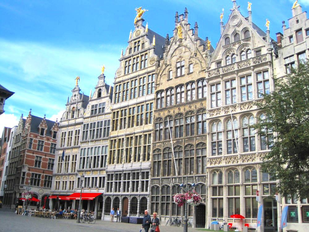 Geschäftshäuser Belgien