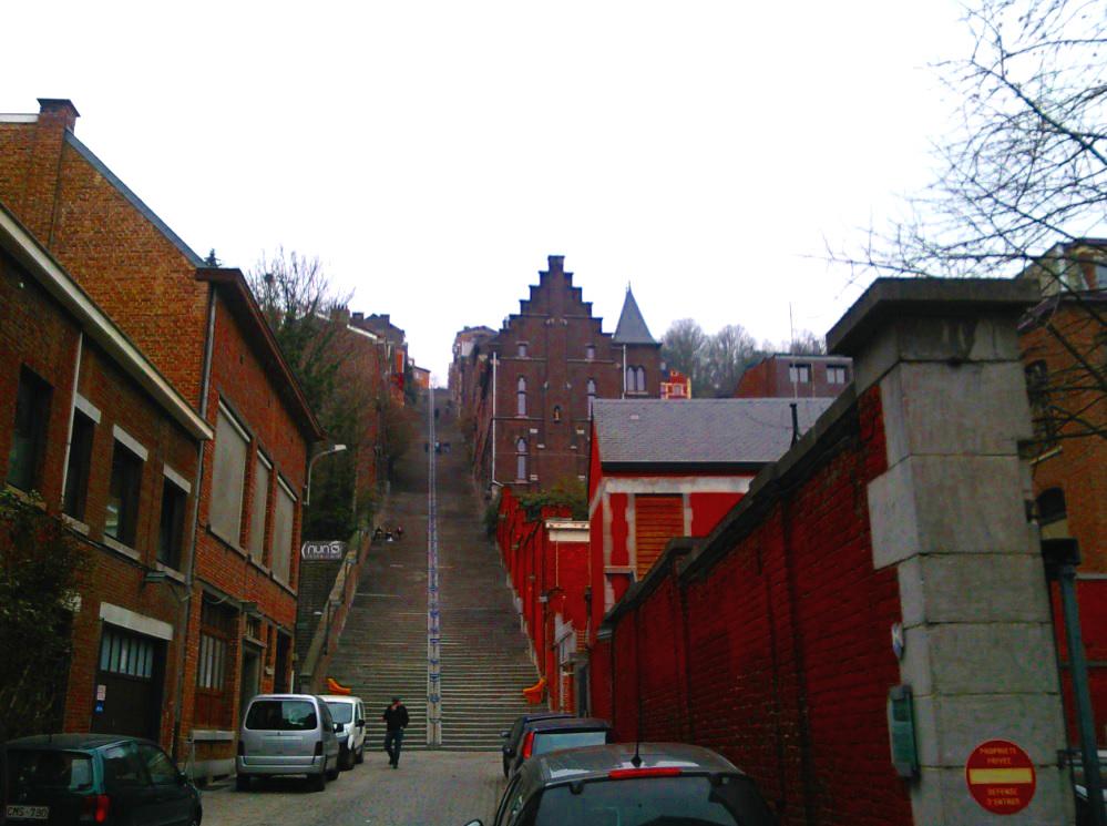 Lütticher Treppe in Belgien