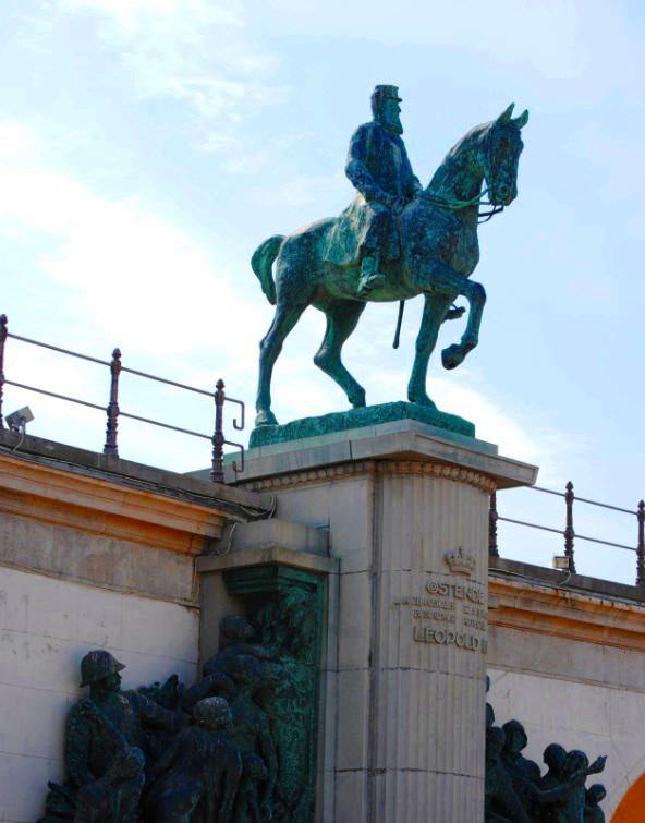 Leopold II Denkmal Ostende
