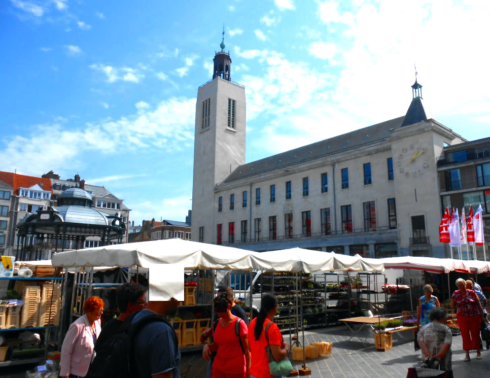 Marktplatz Ostende