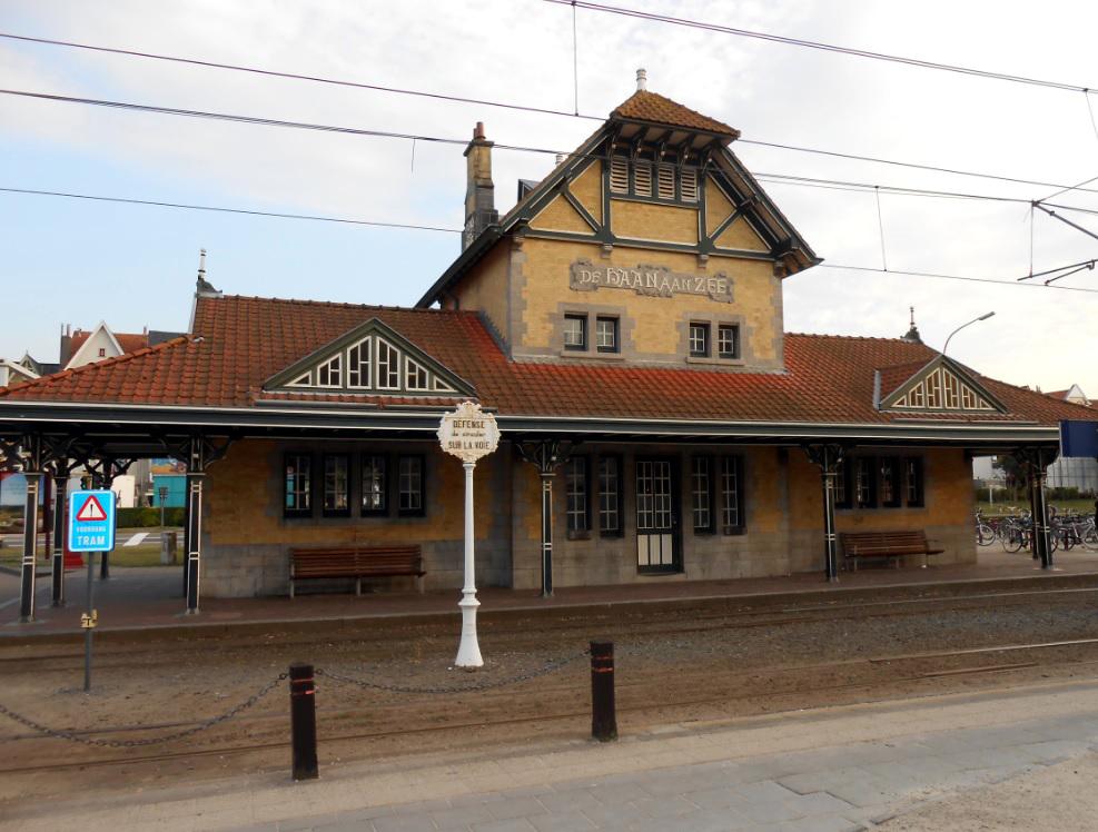 Alter Bahnhof in De Haan