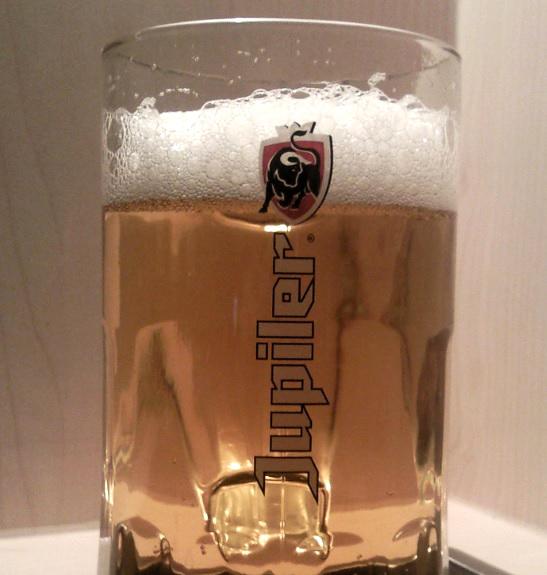 Jupiler Bier aus Belgien