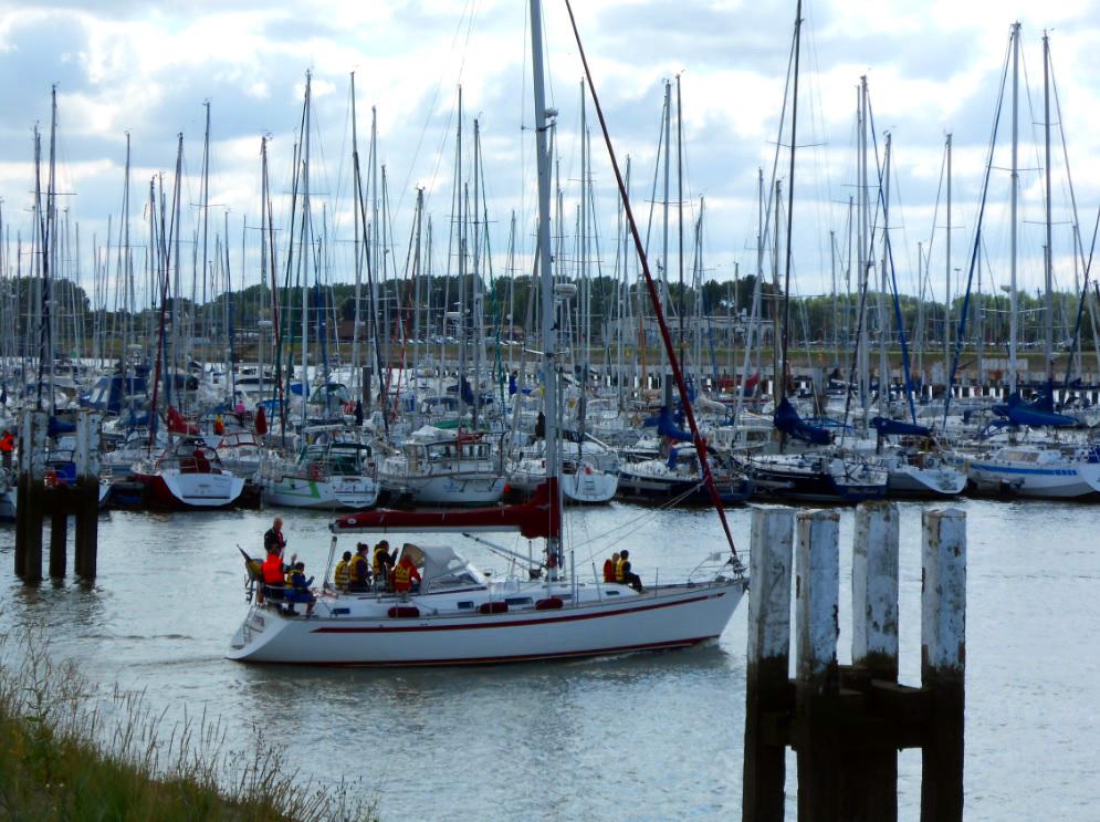 Nieuwpoort Hafen
