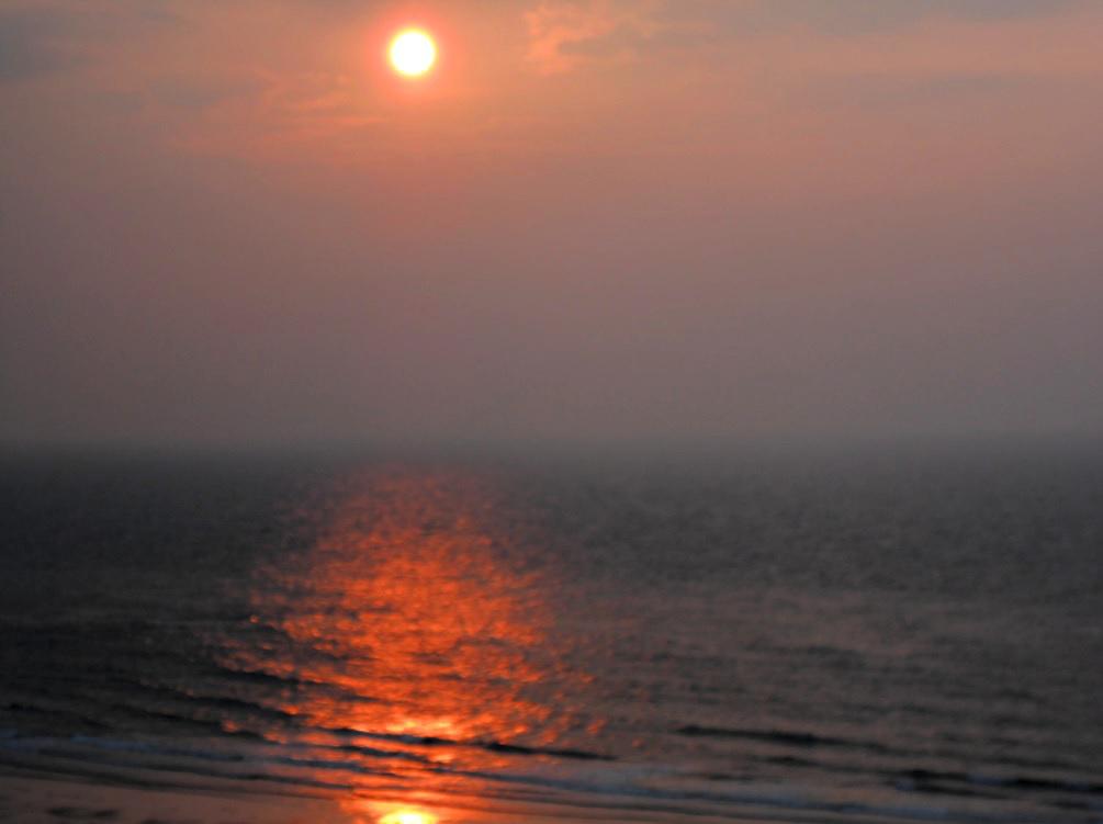 Sonnenuntergang in De Panne