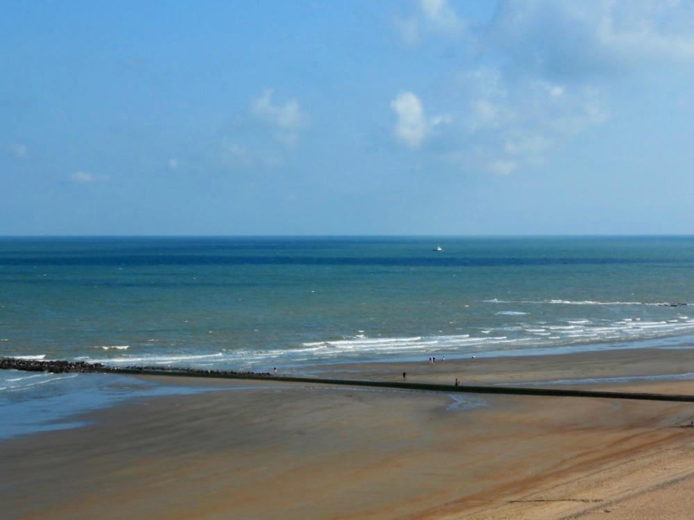 Strand in Blankenberge (Belgien)