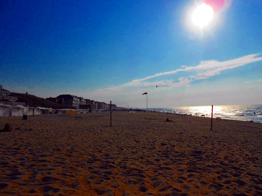 Strand von De Haan (Belgien)
