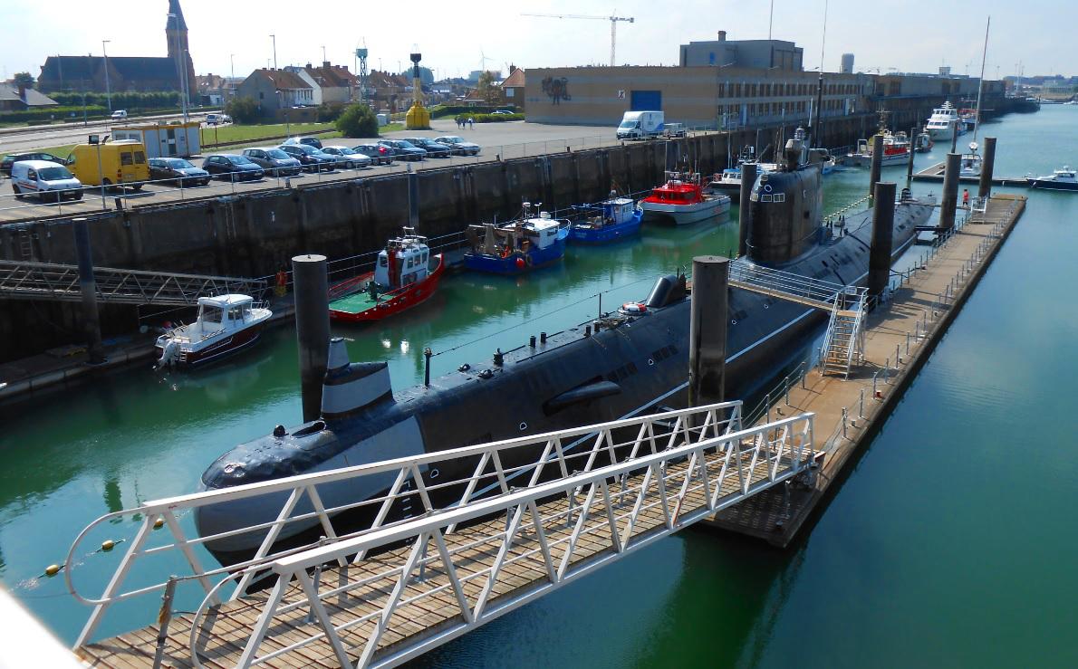 U-Boot bei Zeebrügge