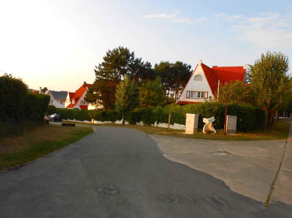 Villenviertel in De Haan