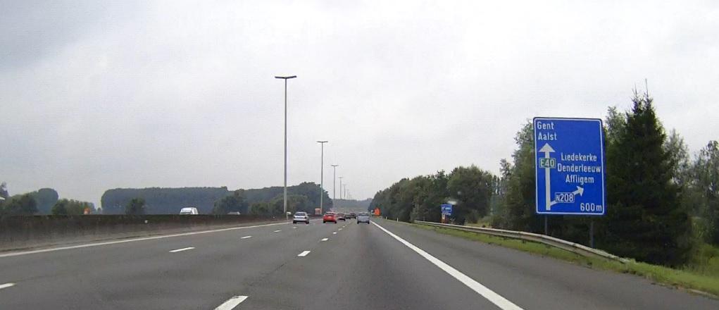 Belgische Autobahn