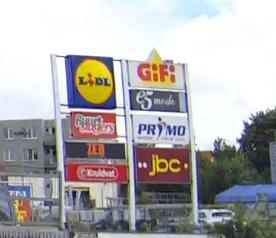 Supermarkt in Belgien