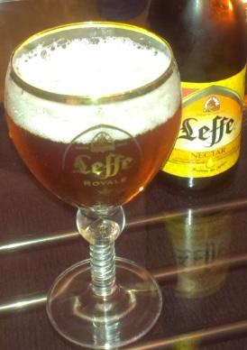 Leffe Nectar im Royale Glas
