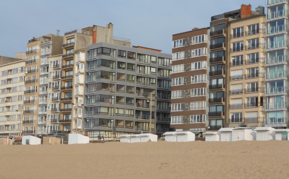 Wohnung in Belgien an der Küste