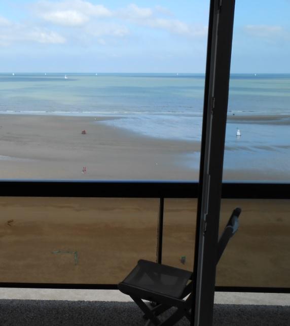 Ausblick FeWo Nordsee Belgien