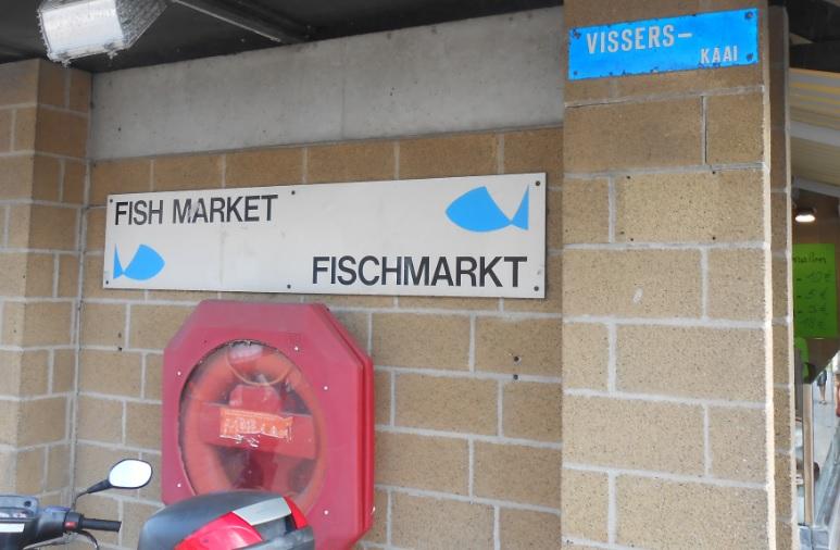 Fischmarkt Ostende