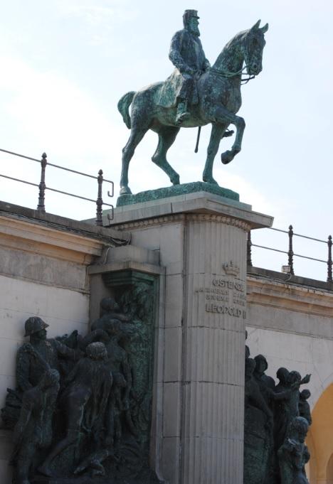 Leopold der 2. in Ostende