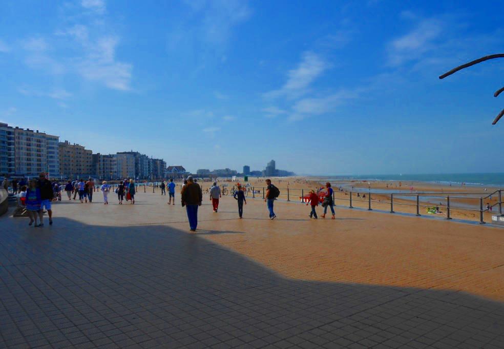 Strand in Flandern (niederländisch)