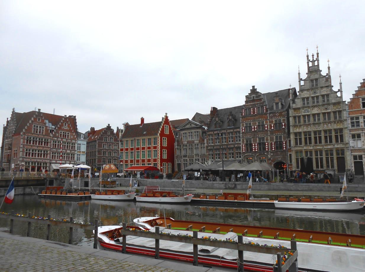 Zentrum von Gent
