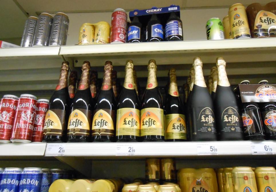 Belgisches Bier im Supermarkt kaufen