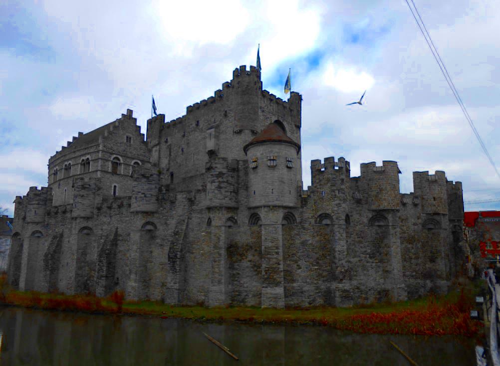 Burg Gravensteen in Gent