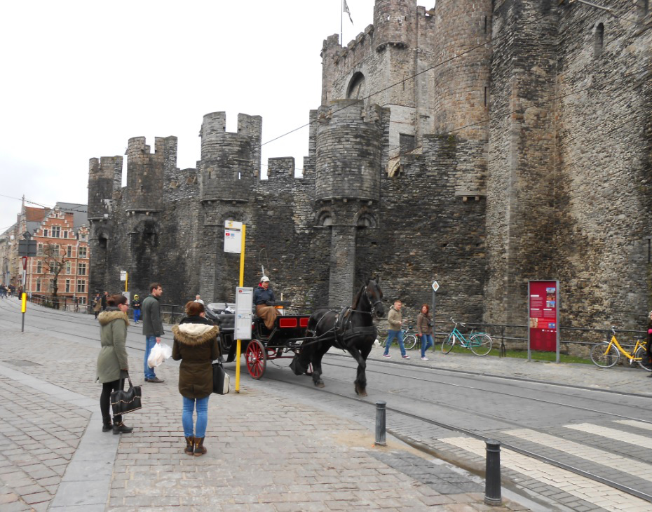 Burg Gravensteen in Gent