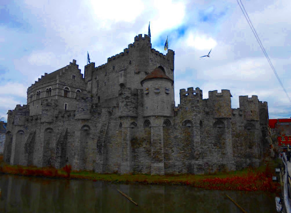 Burg des Grafen in Gent