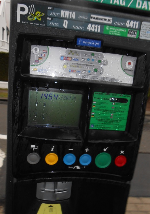 Parkautomat in Knokke Heist