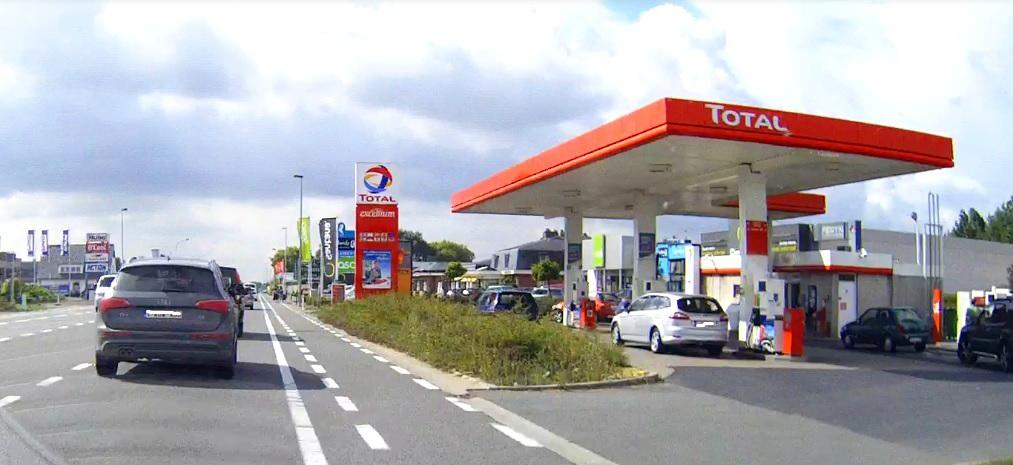 Tankstellen in Belgien
