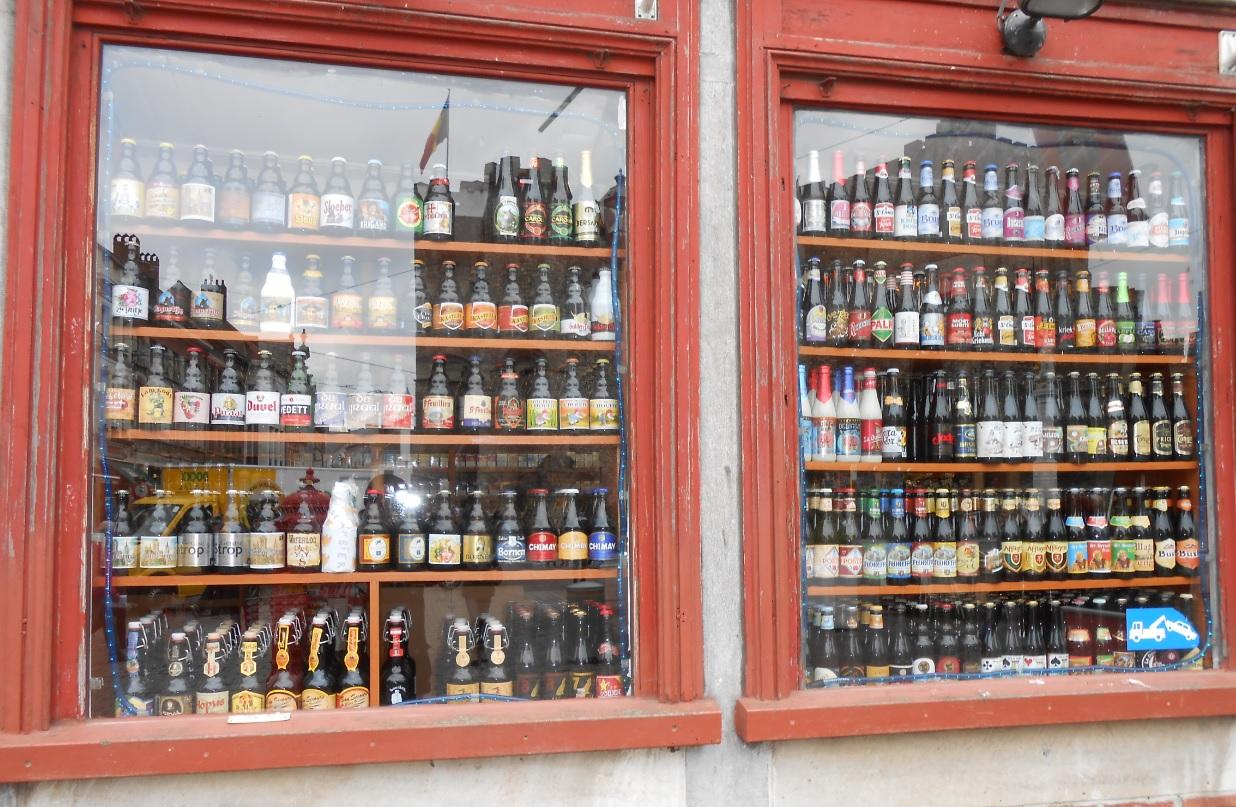 Übersicht belgischer Biere
