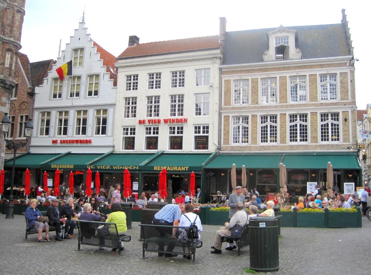 Marktplatz von Brügge