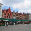 Shopping in Brügge, Belgien mit Pralinen
