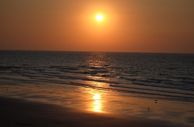 Strand an der belgischen Küste