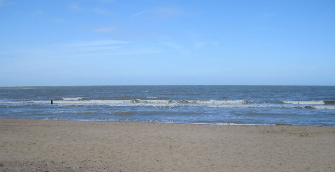 Wetter an der belgischen Küste