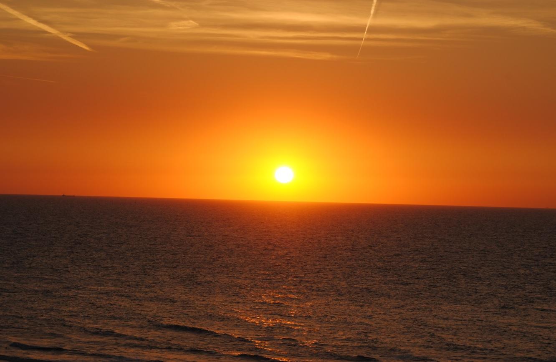 Sonnenuntergang Küste Ostende