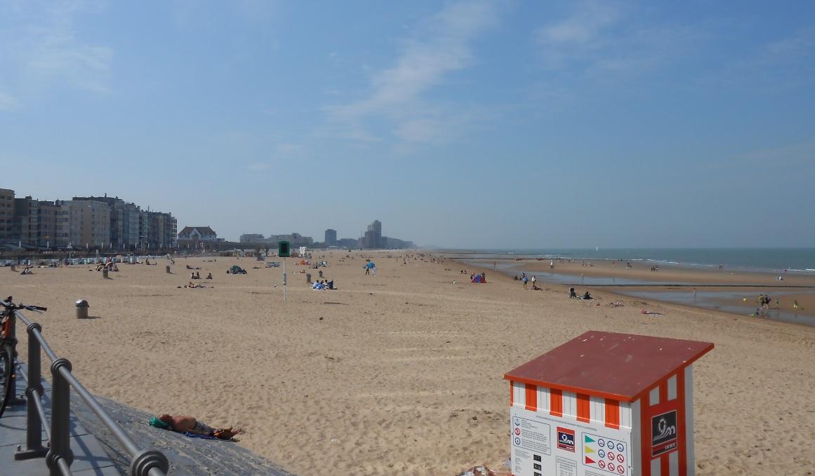 Strand bei Ostende