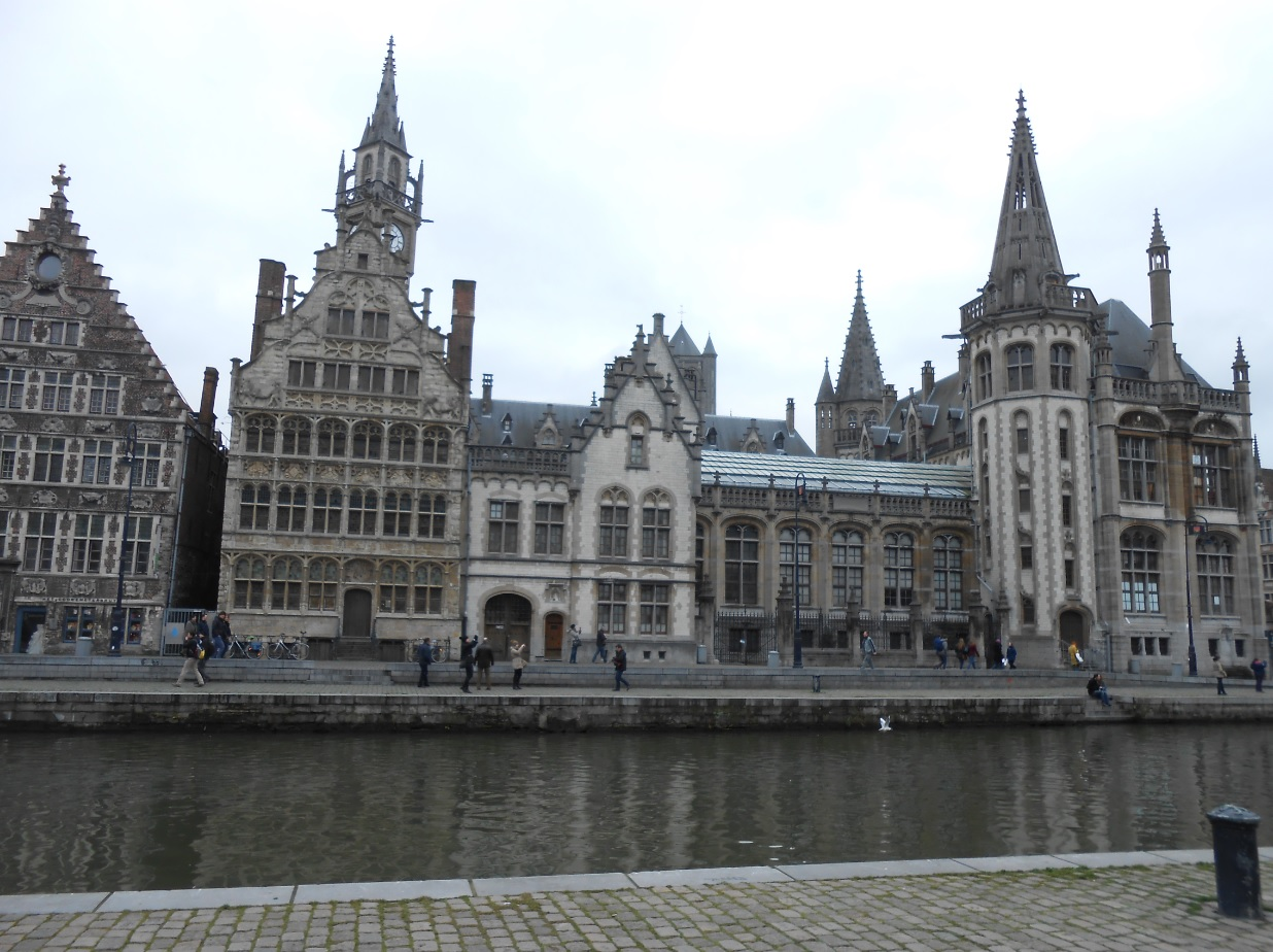 Zentrum von Gent in BelgienZentrum von Gent in Belgien