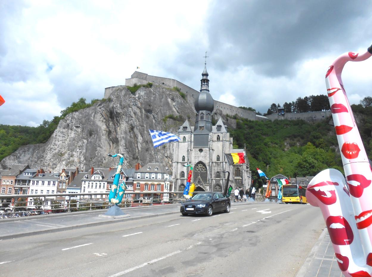 Zitadelle von Dinant in Belgien