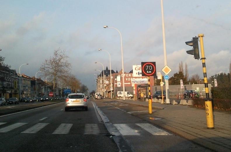 Tempolimit in Belgien