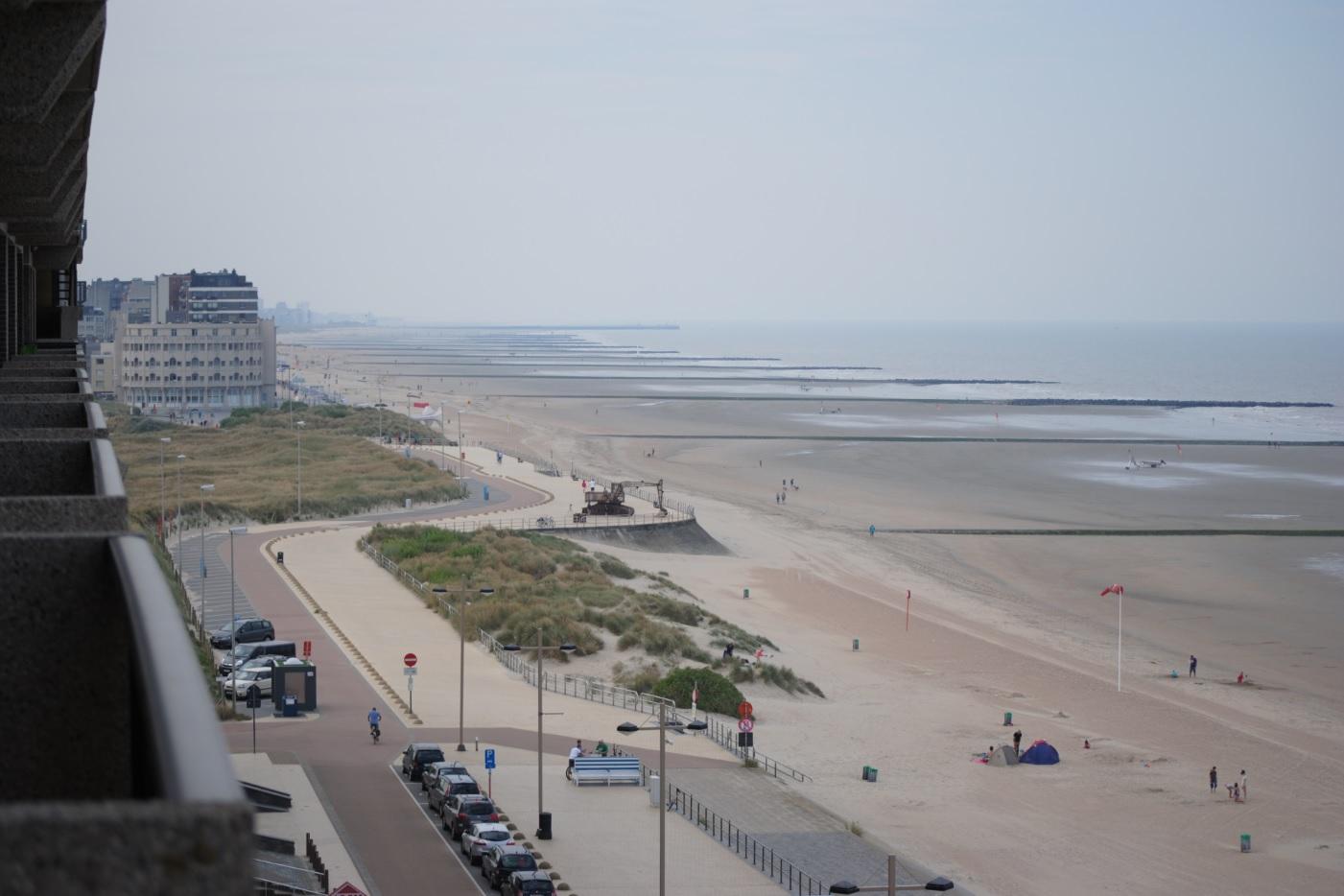 Ausblick belgische Küste