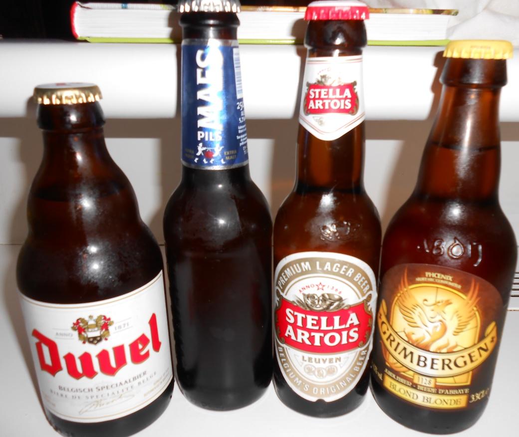 Belgische Biersorten im Urlaub