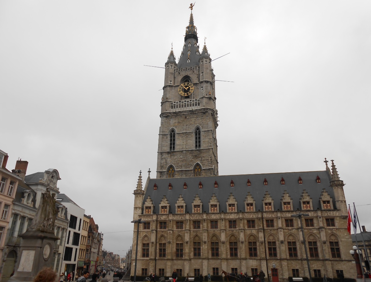 Prächtiges Zentrum von Gent