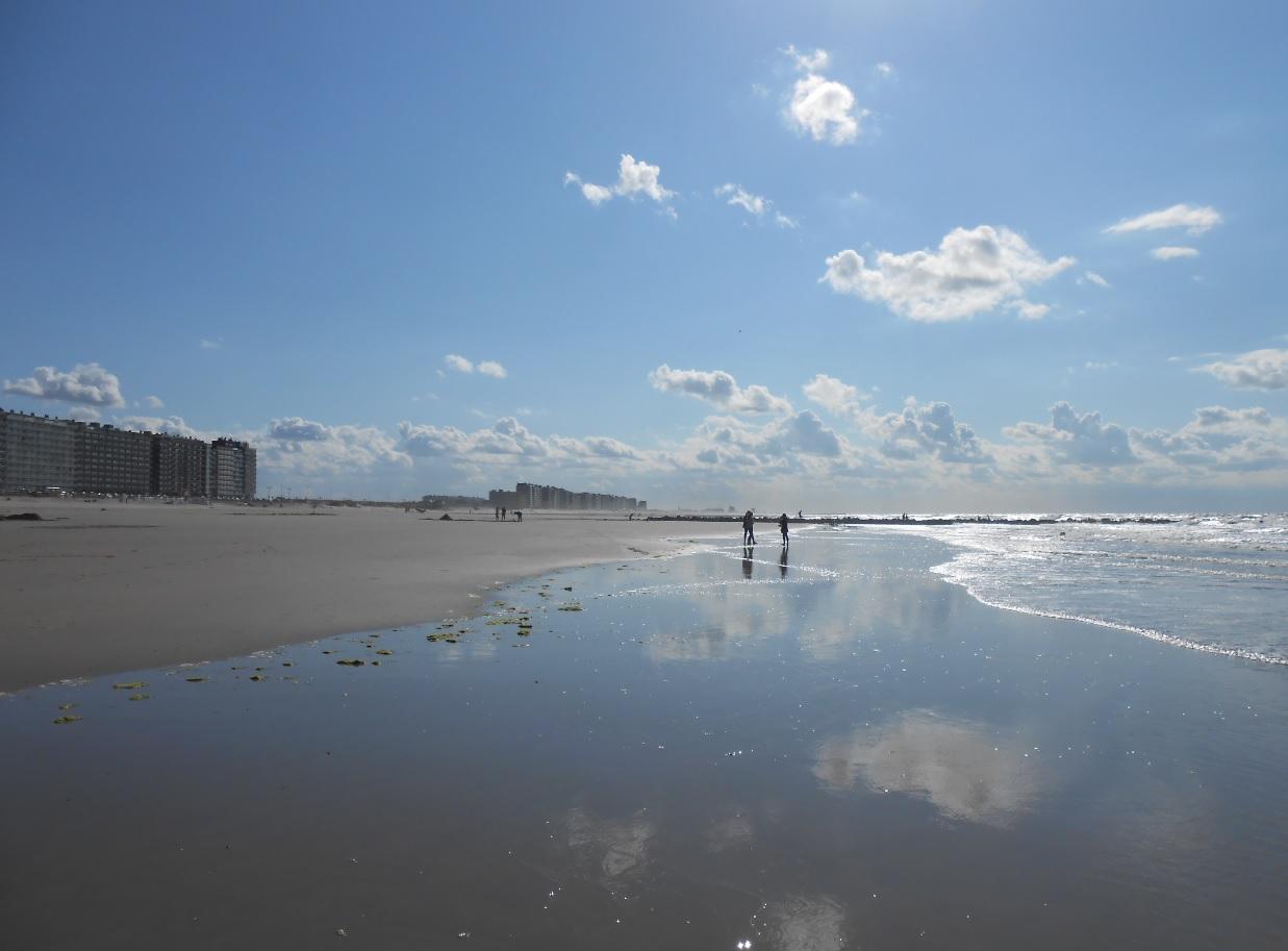 Sommer an der belgischen Küste