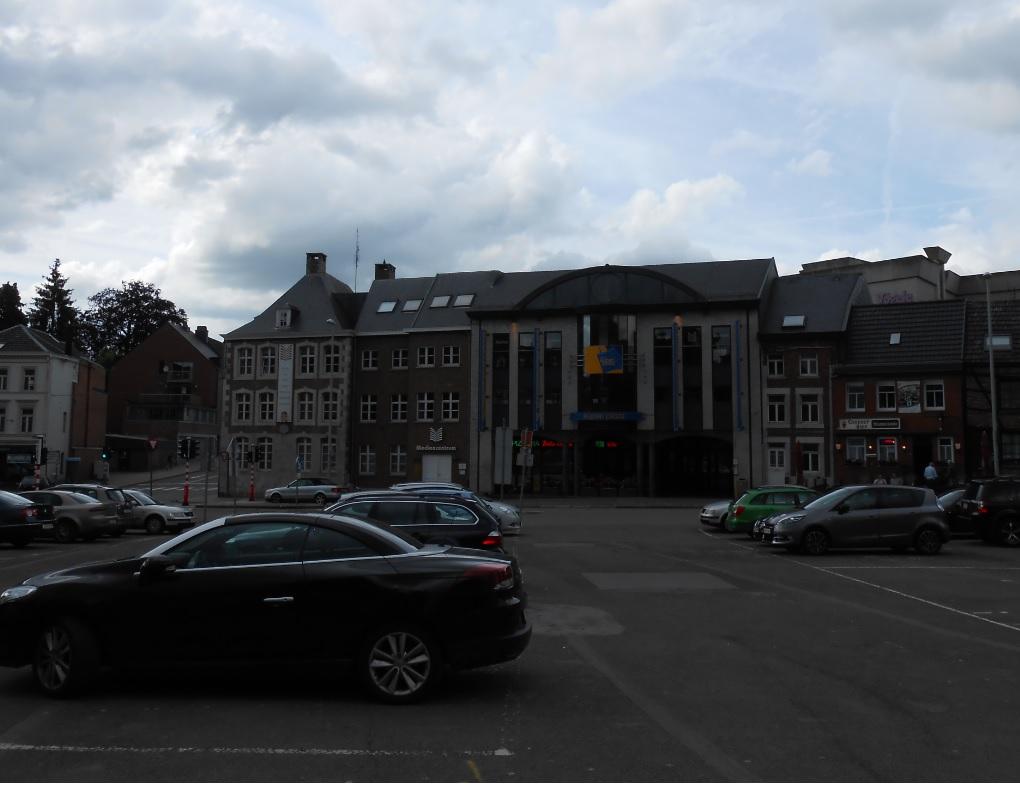 Eupen Plaza in Belgien