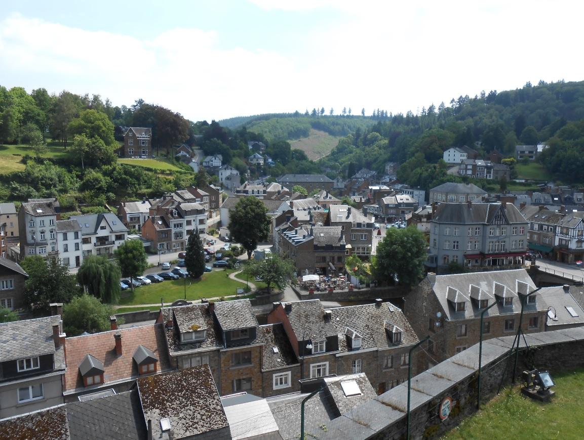 La Roche en Ardenne in Belgien