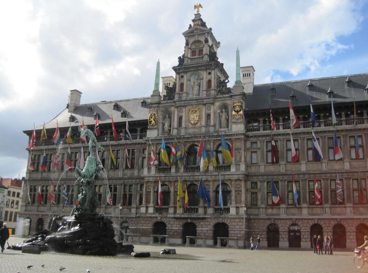 Rathaus von Antwerpen