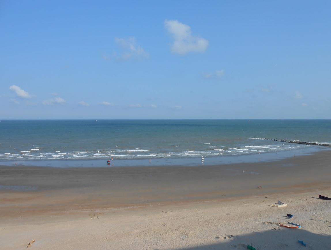 Badestrand an der belgischen Küste