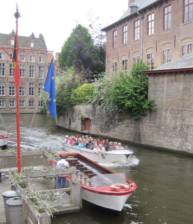 Bootstour durch Brügge