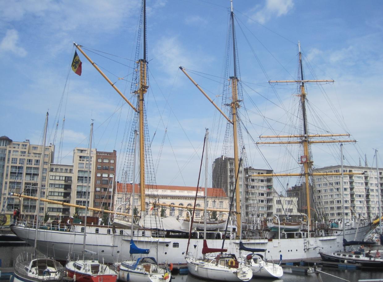 Mercatorschiff in Oostende