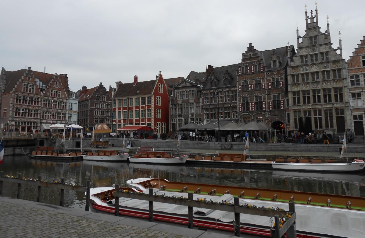 Zentrum von Gent in Belgien